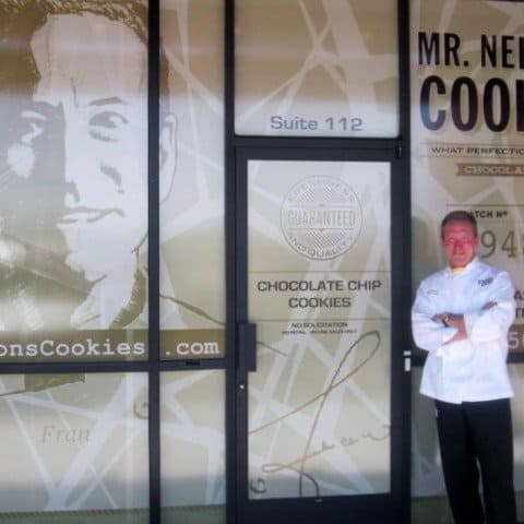 Mr. Nelsons Cookies outside front door